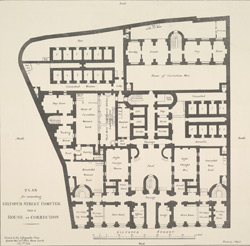 Plan for converting Giltspur Street Compter into a House of Correction